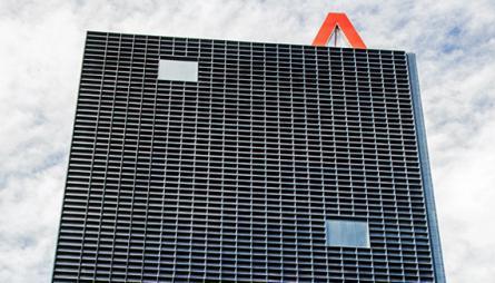 Fachada edificio oficinas Aragonia, Zaragoza