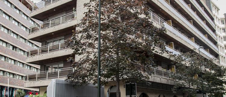 Fachada edificio oficinas Marceliano Isabal 2, Zaragoza
